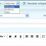 Como adjuntar documentos en Hotmail