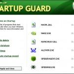 Startup Guard: Controlar que aplicaciones se ejecutan al inicar Windows