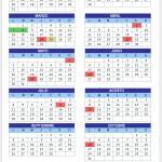 Calendario de Feriados 2010 y 2011