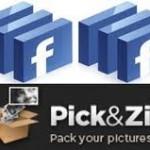 Descargar las fotos de facebook con Pick ZIP
