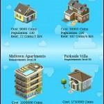 CityVille: Nuevos edificios y casas