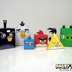 Figuras de Angry Birds para imprimir, recortar y armar
