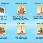 Items limitados edición San Francisco para cityville