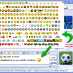 Como agregar emoticones a Windows Live Messenger MSN