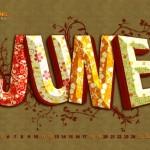Calendario del mes de Junio 2011
