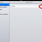 Como conectar el iPad a la red WIFI