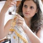 Como limpiar vasos y copas de cristal