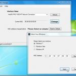 Cambiar direccion MAC de la tarjeta de red en Windows 7