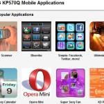 Juegos y aplicaciones para LG KP570Q