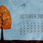 Calendario Octubre 2011