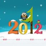 Wallpaper Calendario de Enero 2012