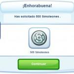 Truco 500 simoleones gratis para The Sims Social