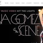 Selenagomez.com, el sitio oficial de Selena Gomez
