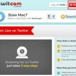 Como hacer y usar twitcam