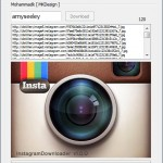 Instragram Downloader, descargar fotos a la pc de Instagram