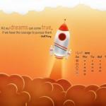 Calendarios del mes Abril 2012