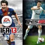 Diferencias entre el FIFA 13 y el PES 2013