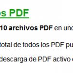 ilovepdf, unir varios PDF en uno solo