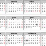 Calendario Feriados 2013 Colombia
