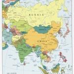 Descargar Mapas de Asia: Fisico y Politico