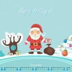 Calendarios del mes de Diciembre 2012