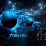 Calendario de febrero del 2013