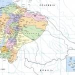 Descargar mapa político y físico de Ecuador