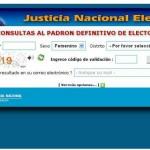 Elecciones Agosto 2013 de Argentina, donde votar