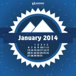 Calendarios del mes de enero 2014