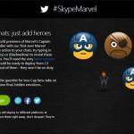 Emoticones Skype de Capitán América