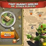 Buscar rivales para saquear oro en el Clash of Clans
