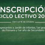 Inscribirse online ciclo lectivo 2016 en la Ciudad de Buenos Aires
