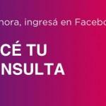 Realizar consultas al ANSES por Facebook