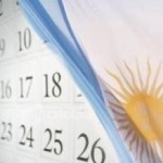 Calendario de feriados 2016 para Argentina