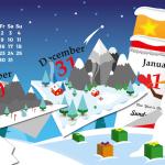 Calendarios diciembre 2016